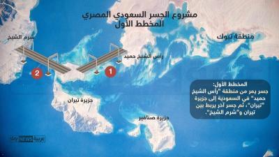جسر الملك سلمان.. مصر والسعودية بانتظار إشارة البدء ( صور)