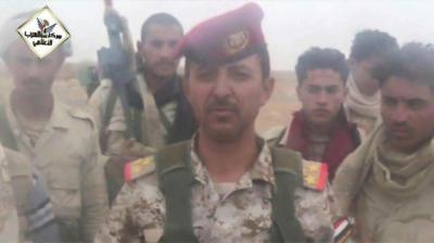 شاهد بالصور .. أركان حرب اللواء 314 الموالي للشرعية قبل وبعد مقتله في مواجهات مع الحوثيين بنهم