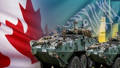 أكبر صفقة أسلحة كندية سعودية تدخل حيز التنفيذ وتقارير كندية تؤكد أن ذلك يدخل في مساعدة السعودية في مواجهة الحوثيين
