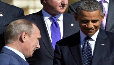 بوتين وأوباما يتفقان على زيادة التنسيق العسكري في سوريا