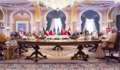بالصور .. وزراء دفاع دول الخليج يعقدون اجتماعاً مع وزير الدفاع الامريكي
