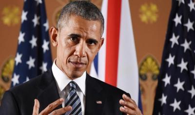 """أوباما: إرسال قوات برية للإطاحة بالأسد """"خطأ"""""""
