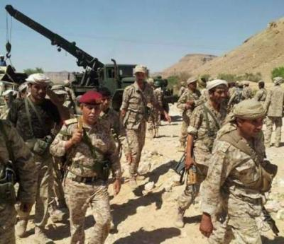 اللواء عبد الرحمن الحليلي يقود معارك عنيفه في وادي حضرموت( صوره)