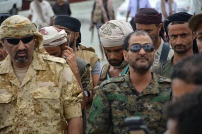 أول تعليق لمحافظ عدن عيدروس الزبيدي عقب محاولة إغتياله هو ومدير الأمن وقائد المنطقة العسكرية الرابعة بسيارة مفخخة ( تفاصيل)