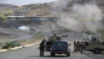 آخر مستجدات الأوضاع من تعز بعد تصعيد عسكري ومواجهات في أكثر من جبهة
