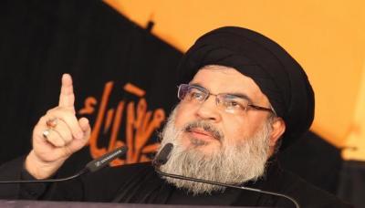 """حسن نصر الله يقول إن محادثات الكويت بين الأطراف اليمنية """" ستفشل """" !"""