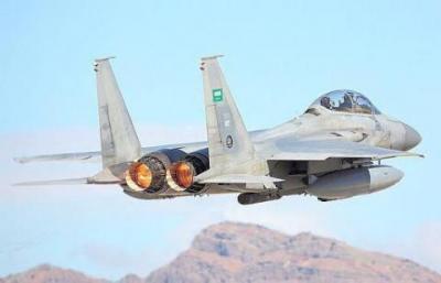 تحليق كثيف لطيران التحالف في سماء العاصمة صنعاء