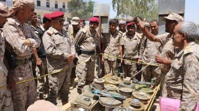 رئيس هيئة الأركان يتفقد الشعبة الفنية بالمنطقة العسكرية الثالثة بمأرب ( صوره)