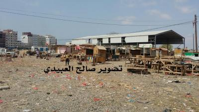 شاهد بالصور .. هكذا بدت أسواق القات في عدن بعد قرار المنع