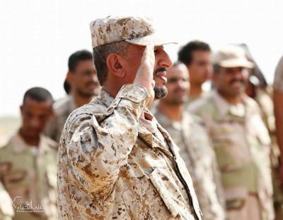 شاهد بالصور .. تخرج دفعات قتالية جديدة من المنطقة العسكرية الخامسة في ميدي بحضور اللواء القشيبي