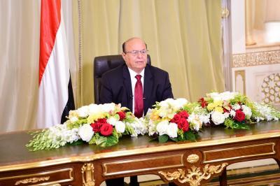 """الرئيس هادي في كلمته مساء اليوم يبشر بالوحدة الجديدة ويهاجم """" صالح """"  ( نص الكلمه)"""