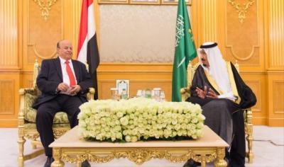 ما وراء التهنئة التي بعث بها الملك سلمان إلى الرئيس هادي بمناسبة عيد الوحدة