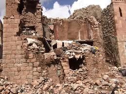 منطقة في  تعز المنكوبة تفقد العشرات من أبنائها بين قتيل وجريح بسبب إنهيار صخري
