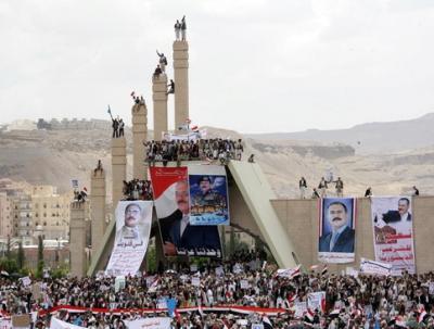 """الرئيس السابق """" صالح """" يخذل أنصاره ويصدمهم بهذه الدعوه"""