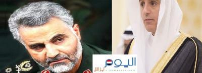 """أول تعليق سعودي على وجود القائد الإيراني """" قاسم سليماني """" إلى جانب الحشد الشعبي في العراق .. والجبير يكشف مالذي يزعج السعودية"""