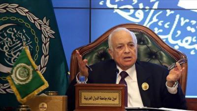 """الجامعة العربية تؤكد دعمها لشرعية """"هادي"""" في اليمن ورفضها التدخل العسكري في ليبيا"""