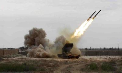 صاروخ باليستي على الأراضي السعودية وتحليق كثيف للطيران في سماء العاصمة صنعاء