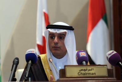 """أبرز ما قاله وزير الخارجية السعودي """" الجبير """" حول الأزمة اليمنية في مؤتمر صحفي مساء اليوم"""