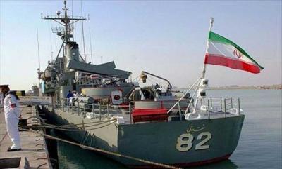 وكالة إيرانية تكشف الغرض من وصول قوة بحرية ومدمرة حربية إيرانية إلى خليج عدن