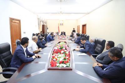 تفاصيل أول إجتماع للحكومة اليمنية في عدن ( صوره )