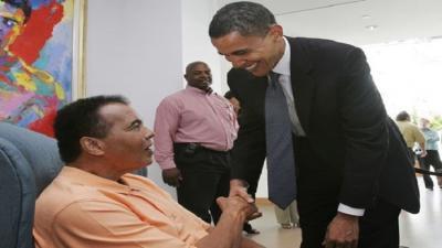 لهذا السبب لن يحضر أوباما جنازة محمد علي كلاي