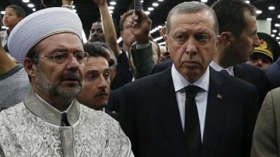 أردوغان يغضب ويقطع مشاركته بمراسم تأبين محمد علي كلاي بأمريكا .. لهذه الأسباب
