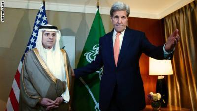 """الخارجية الأمريكية """" تبتز """" السعودية بشأن اليمن  وتدعوا للمواجهه إلى جانب الأمم المتحدة"""