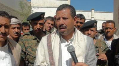"""شاهد بالصور .. محاولة إغتيال القيادي الحوثي """" اللواء الشامي """"  تودي بحياة سائقة وإصابة 5 من مرافقيه حالة أحدهم حرجة"""
