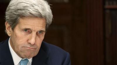 """لأول مره وزير الخارجية الأمريكي"""" كيري """" يهدد روسيا بشأن سوريا"""