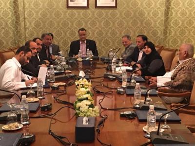 مخاوف تكتنف مشاورات الكويت بين الأطراف اليمنية بعد تغريدات العليمي
