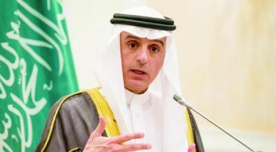 """وزير الخارجية السعودي """" الجبير """" يكشف موقف الإمارات من التحالف في اليمن"""