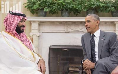 بالصور .. أوباما يلتقي ولي ولي العهد السعودي محمد بن سلمان