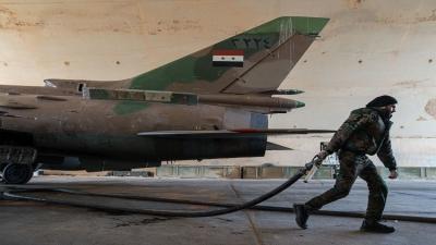 سقوط طائرة حربية سورية ومقتل قائدها وإثنين آخرين أثناء تحطمها