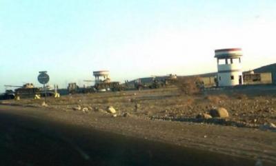 تفاصيل ومعلومات جديدة حول سيطرة الحوثيون على مواقع هامة بالقرب من قاعدة العند وتدخل طيران التحالف
