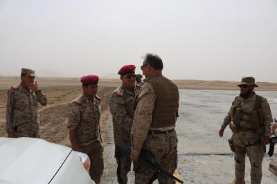 وصول أمير سعودي إلى مأرب ( صوره)