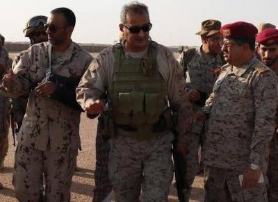 مصادر عسكرية في الجيش التابع للشرعية تكشف عن ترتيبات عسكرية وحشود لفتح جبهات جديدة بعد وصول أمير سعودي إلى مأرب