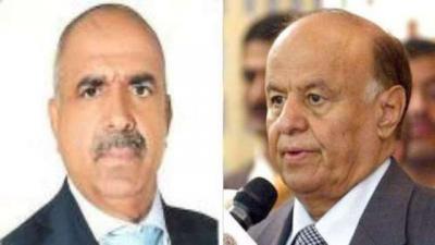 """ظهور مفاجئ لأحد المقربين من الرئيس هادي في حضرة الرئيس السابق """" صالح """" ( صورة)"""