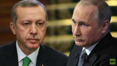 في تطورات مفاجئة .. أردوغان يعتذر لبوتين عن إسقاط الطائرة الروسية ( تفاصيل)