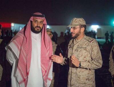 شاهد بالصور .. في زيارة مفاجئة .. محمد بن سلمان يصل الحدود اليمنية السعودية مباشرة بعد زيارته لفرنسا ومراقبون يكشفون السبب