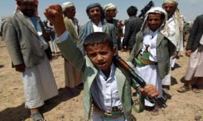 4 محافظات يمنية يتخذ منها الحوثيون معسكرات لتجنيد الأطفال