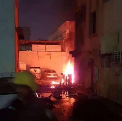 تفجير إنتحاري بالقرب من أحد المساجد بمدينة القطيف السعودية وتفجير آخر بالمدينة المنورة ( صورة)