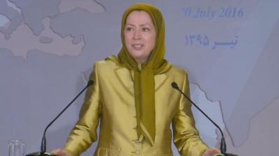 زعيمة المعارضة الإيرانية تتحدث عن عاصفة الحزم في اليمن