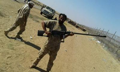 مواجهات عنيفة في مدينة حرض الحدودية بين الجيش والحوثيين