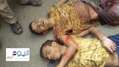 بالصور .. هذا ما حدث اليوم في مواجهات حرض .. قتلى مرميون في الطرقات وجرحى ينزفون حتى الموت
