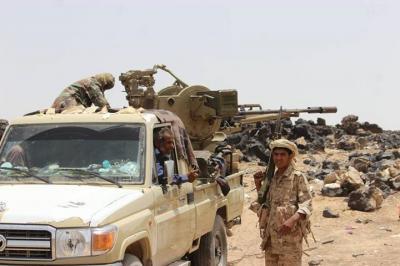 معارك عنيفة في صرواح بمأرب والجيش والمقاومة يسيطران على منطقة إستراتيجية