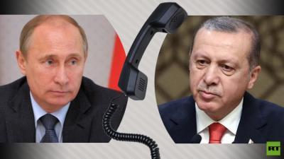 بوتين يهاتف أردوغان عقب محاولة الإنقلاب الفاشلة في تركيا