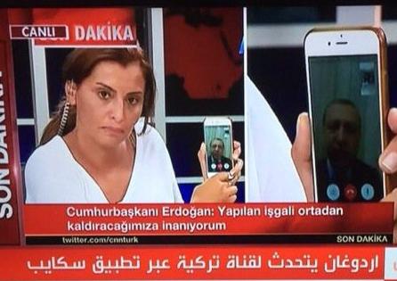 """المذيعة التي أنقذت تركيا من الإنقلاب تكشف كواليس مكالمتها الهاتفية مع أردوغان عبر """" فايس تايم """""""