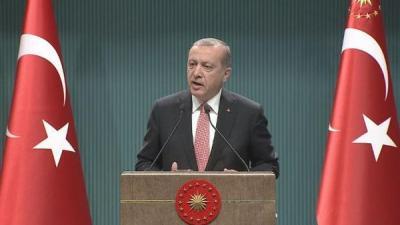 أردوغان يعلن حالة الطوارئ في تركيا لمدة 3 أشهر ويكشف سبب إتخاذه لهذا القرار سريعاً