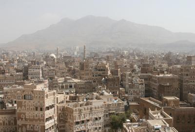 إنفجار عنيف بالقرب من أحد المساجد وسط العاصمة صنعاء
