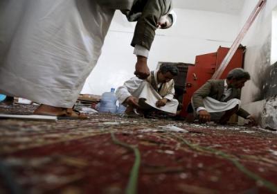 تفاصيل أوليه للإنفجار الذي وقع بأحد مساجد محافظة صنعاء وخلف قتلى وجرحى